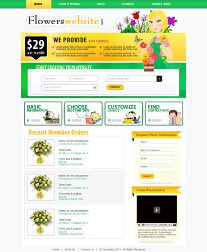 flowering website B